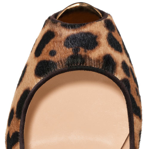 f21ee619601 Christian Louboutin Highness 160mm Peep Toe Pumps Leopard, Louboutin ...